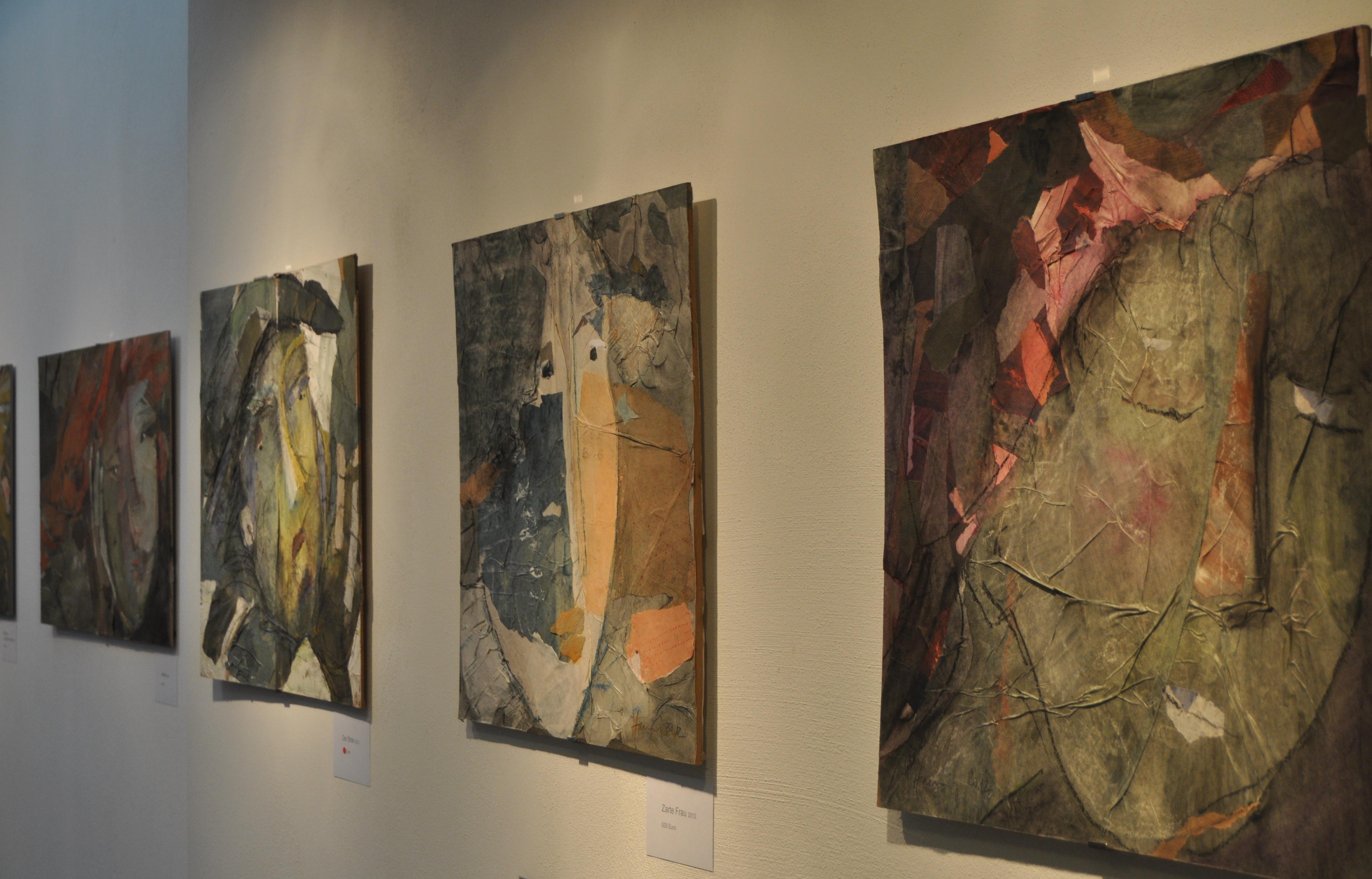 Collagen von Anja Hannig