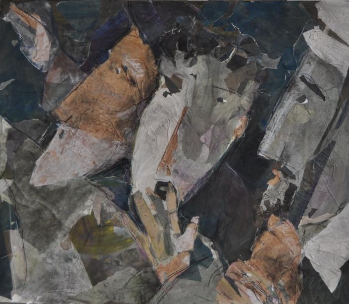Hirten – Collage von Anja Hannig
