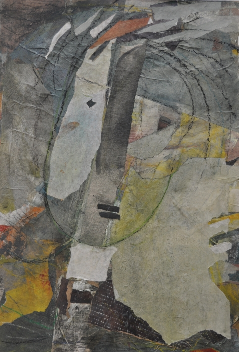 Junge – Collage