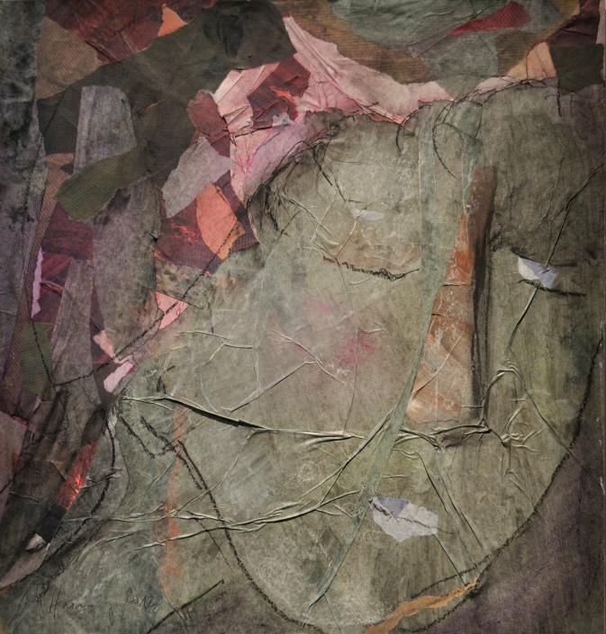 Müde Frau – Collage von Anja Hannig