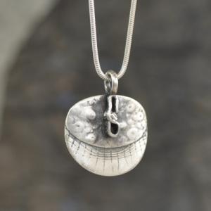 Anhaenger aus Silber - Unikat
