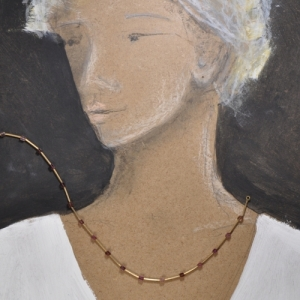 Collier aus Gold - Unikat