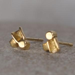 Ohrstecker aus Gold - Unikat