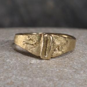 Ring aus Gold - Unikat