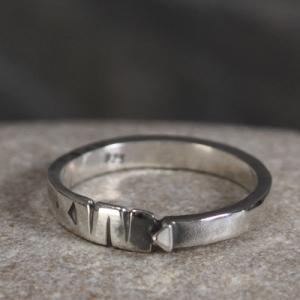 Ring aus Silber - Unikat