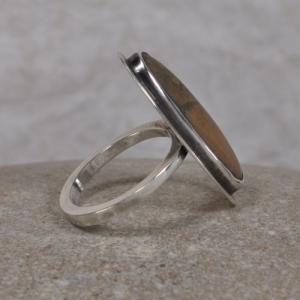 Ring aus Silber - mit Stein